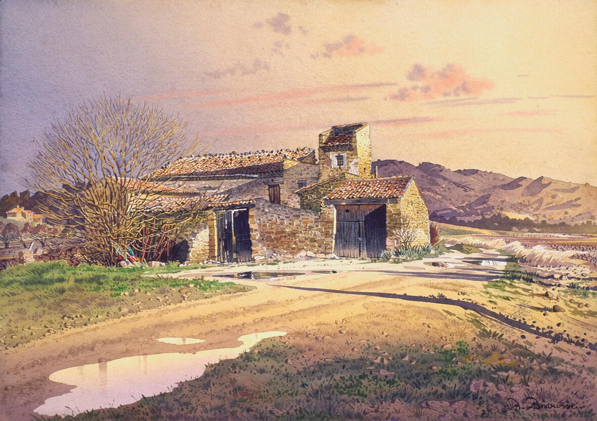 Vieille ferme à Puyvert