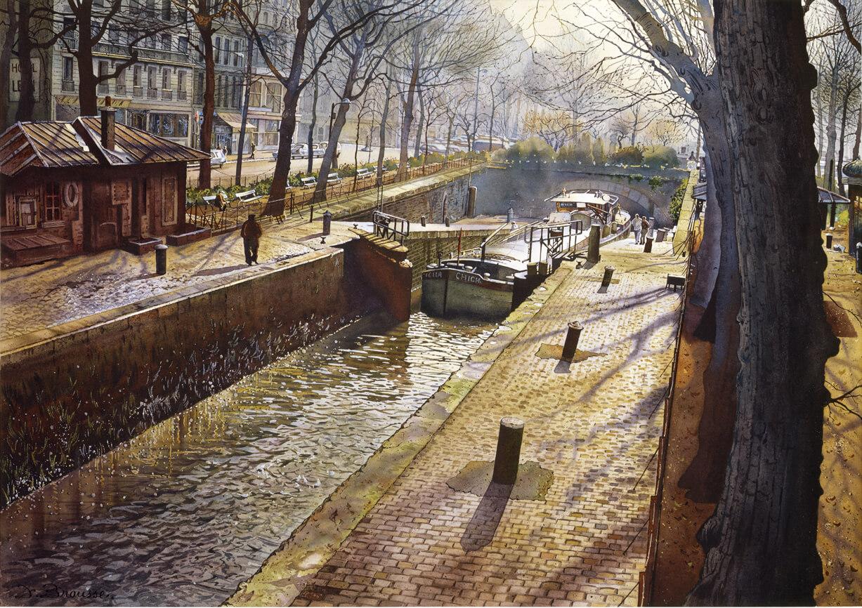 Paris, Le Canal Saint-Martin